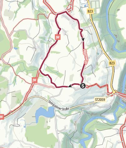 Karte / Pfaffenwinkler Milchweg