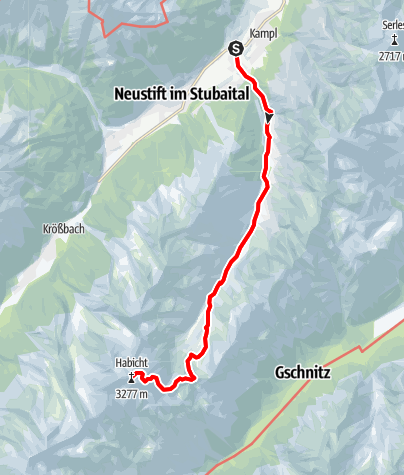 Karte / Seven Summits - Habicht