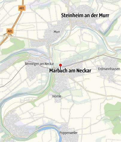 Karte / Schillers Geburtshaus