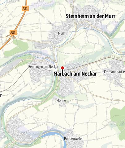 Karte / Gästehaus Glock