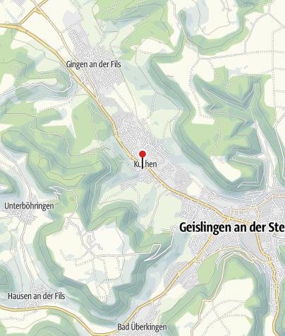 Karte / Gemeindeverwaltung Kuchen
