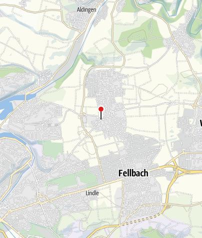 Karte / Radlager, Fellbach-Schmiden