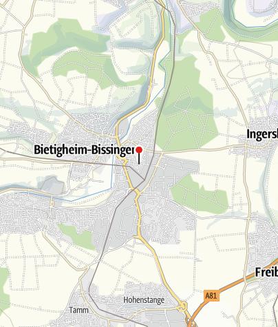 Karte / Fahrrad Imle, Bietigheim-Bissingen