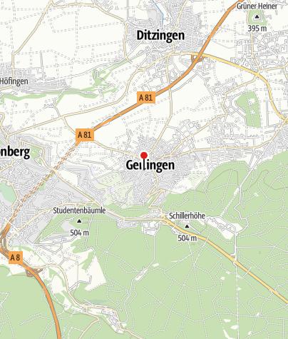 Karte / Zweiradhaus Maier