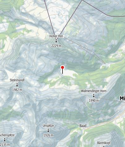 Karte / Alpe Melköde (GenussHütte)