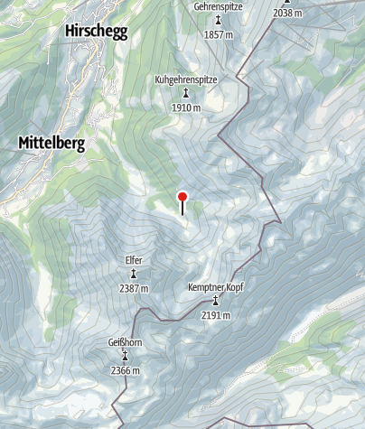 Karte / Fluchtalpe
