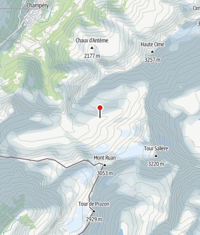 Karte / Cabane de Susanfe (CAS)