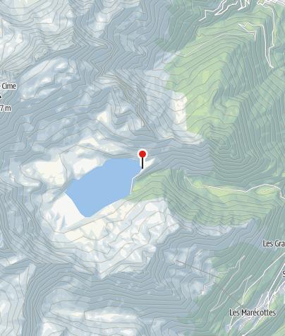 Karte / Auberge de Salanfe
