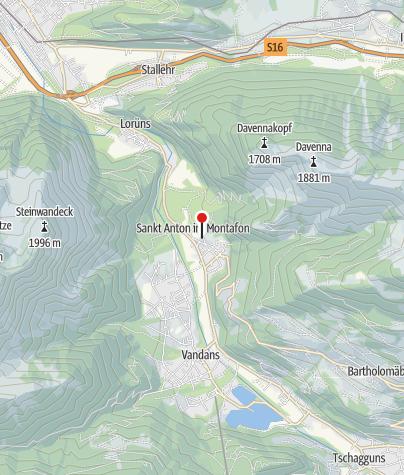 Karte / Ferienwohnung Flatz Gertrud