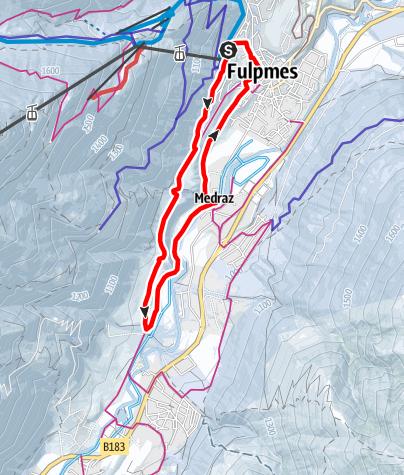 Karte / Fulpmer Runde - Variante 1