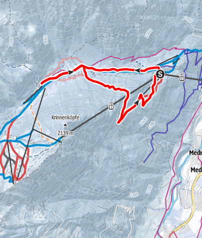 Karte / Schlicker Runde