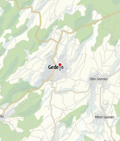 Karte / Schlosshotel Gedern