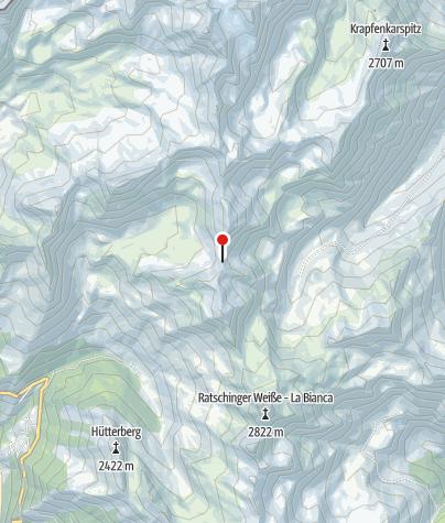Karte / Schneebergscharte (Kaindljoch)