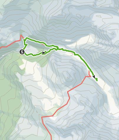 Karte / Pensa - Motta d'Err - Alp d'Err - Bartg - Pensa