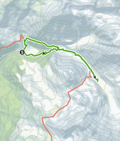 Map / Pensa - Motta d'Err - Alp d'Err - Pensa