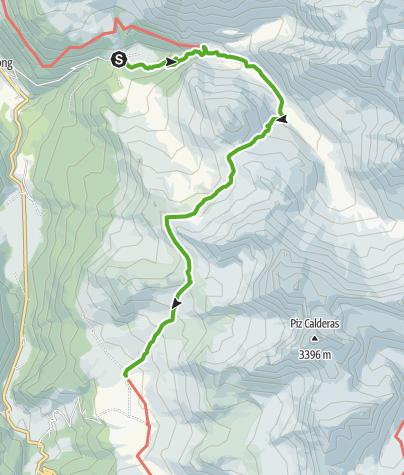 Map / Pensa - Alp Flix
