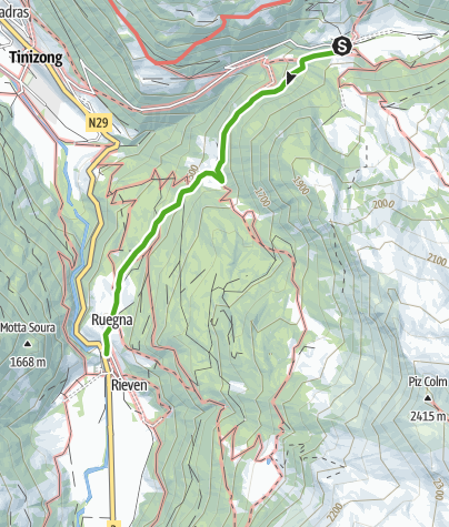 Map / Pensa - Rona