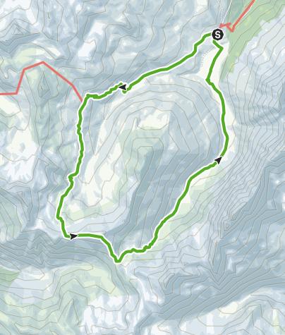 Karte / Radons - Fuorcla Starlera - Radons