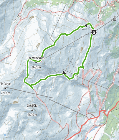 Map / Somtgant - Radons