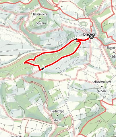 Karte / Nordhelleweg (D2) Dreislar