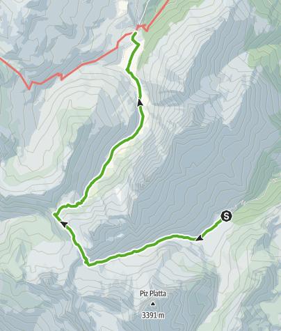 Karte / Tga (Val Faller) - Radons