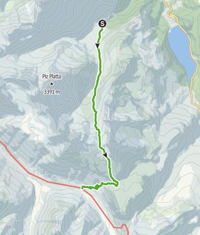 Map / Tga (Val Faller) - Juf