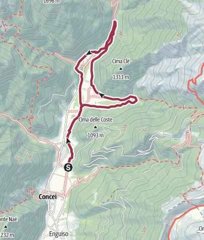 Cartina / Sentiero naturalistico della Val Concei