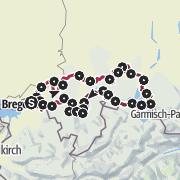 """Map / """"Wasserläufer""""-Trail"""