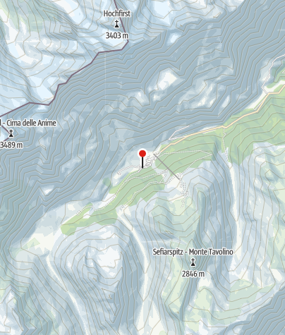 Karte / AVS-Bergheim Pfelders