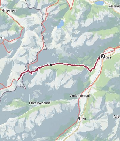 Karte / Forchach-Prinz-Luitpoldhaus