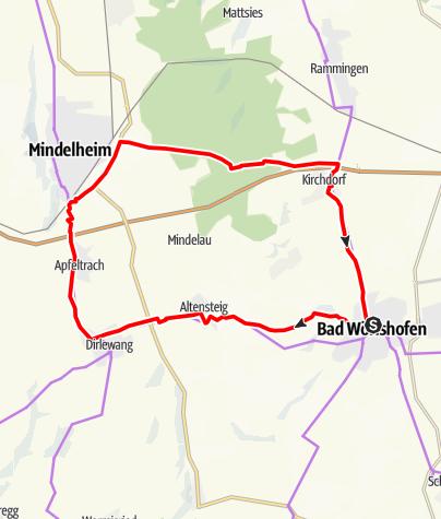 Karte / Unterallgäuer Runde