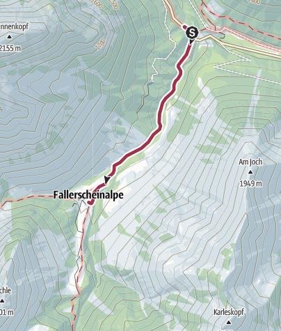 Karte / Sennerstüberl Fallerschein