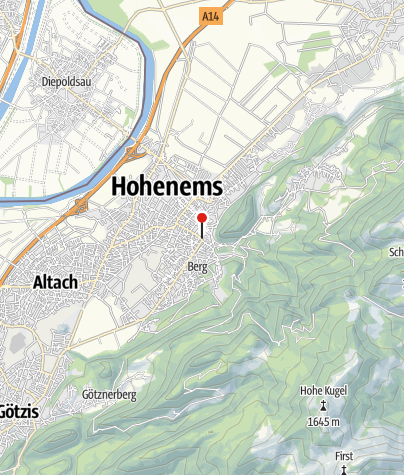 Karte / Kapelle St. Karl