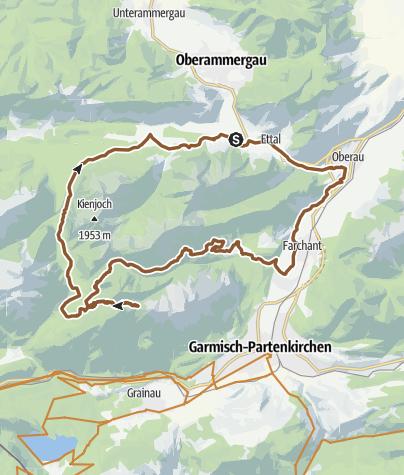 Map / Mountainbiketour - 2 Almen Runde