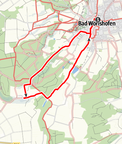 Karte / Wanderung nach Hartenthal