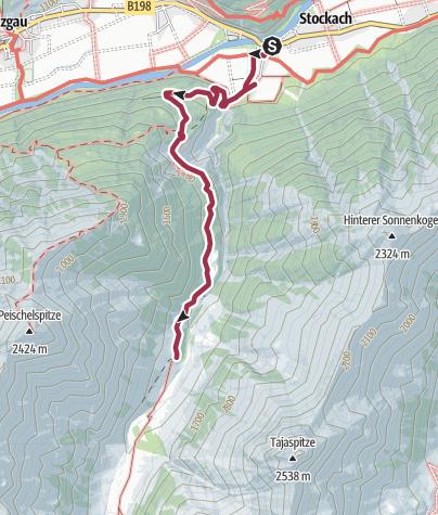 Karte / Sulzlalm