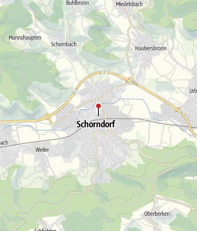 Karte / StadtBierGarten Schorndorf