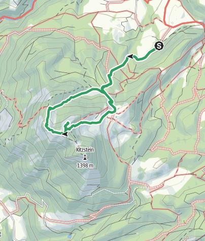 Karte / Wasserwand am Heuberg, Samerberg