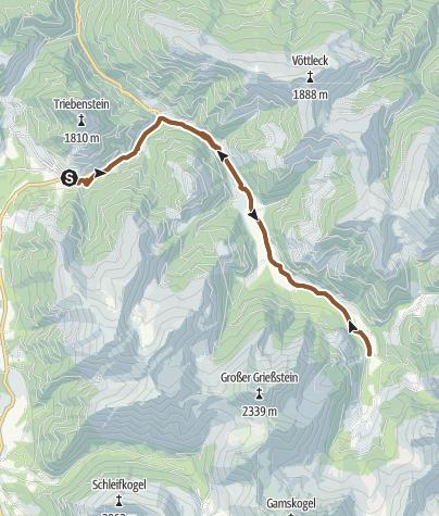 Karte / Bergerhube