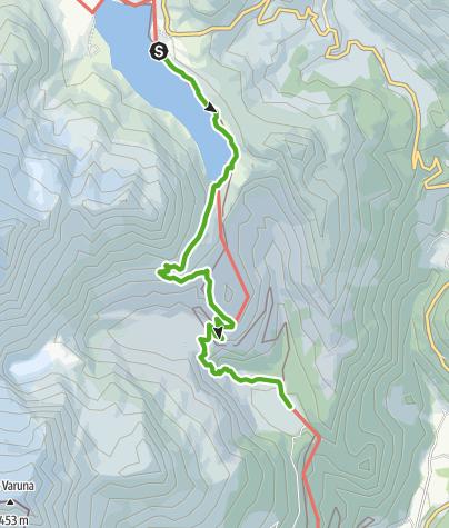 Karte / 33.08 Ospizio Bernina - Cavaglia, Via Albula / Bernina