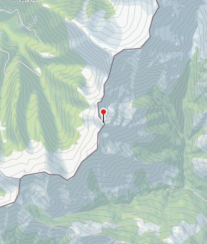 מפה / Cima di Gana Rossa