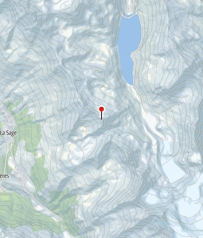 Cartina / Pointe du Bandon