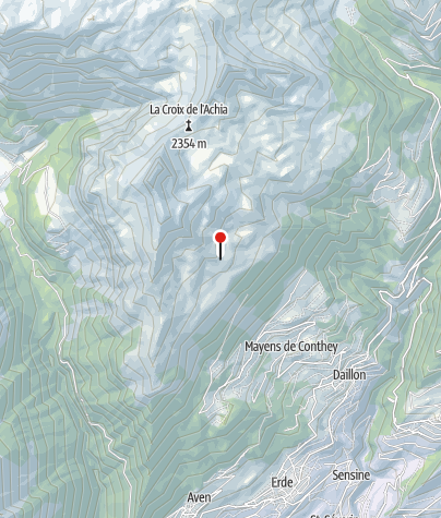 Cartina / Mont Tservet