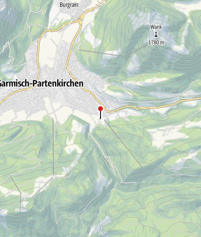 Karte / Olympiahaus, Gasthof
