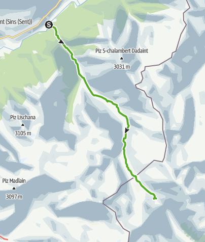 Map / 45.01 Scuol - Sesvennahütte, Nationalpark-Panoramaweg