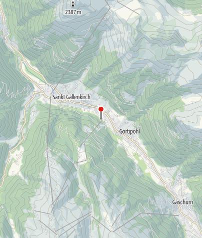 Karte / V6: Sport Montafon, Sport Harry, Garfrescha Bahn, St. Gallenkirch-Gortipohl