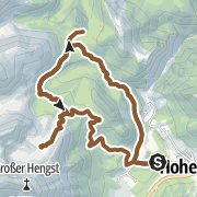 Karte / Hölleralmrunde (Hohentauern-Hölleralm-Edelrautehütte-Hohentauern)
