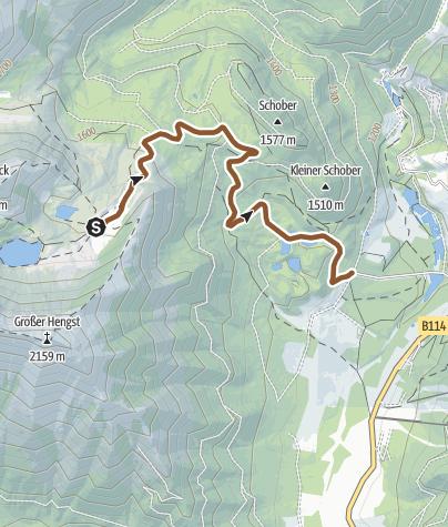 Karte / Edelrautehütte