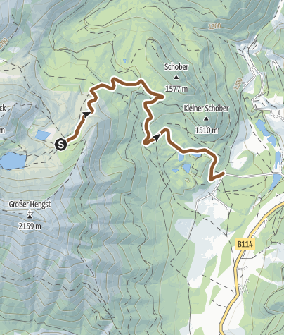 地图 / Edelrautehütte