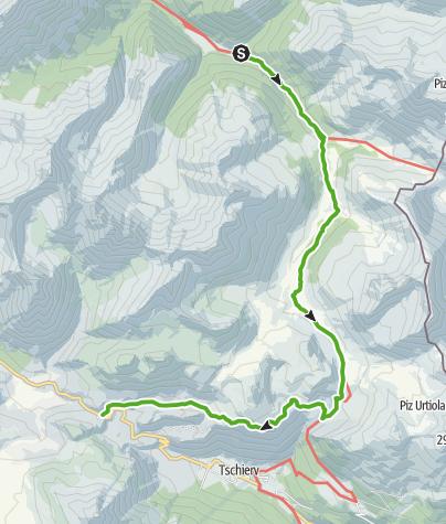 Map / 45.03 S-charl - Sta Maria, Nationalpark-Panoramaweg